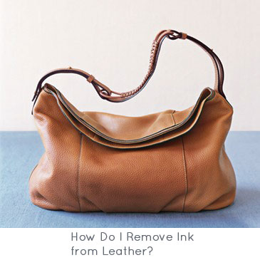 How Do I Remove Ink from Leather?