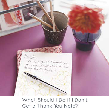 What Should I Do if I Don't Get a Thank You Note?