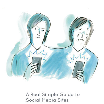 A Real Simple Guide to Social Media Sites