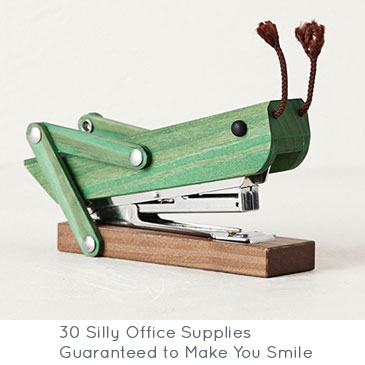 30 Silly Office Supplies | Brit + Co.