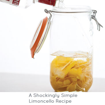 A Shockingly Simple Limoncello Recipe | Brit + Co.