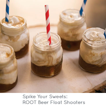 Spiked Root Beer Float Shooters | Brit + Co.