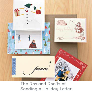 The Dos and Don'ts of Sending a Holiday Letter