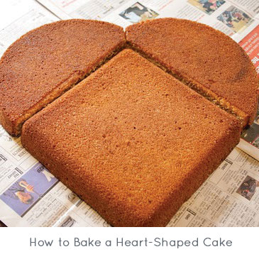 How to Bake a Heart-Shaped Cake