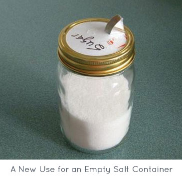 A New Use for an Empty Salt Container