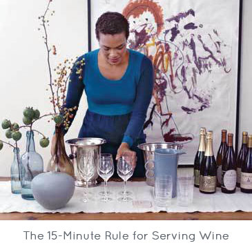 The 15-Minute Rule for Serving Wine